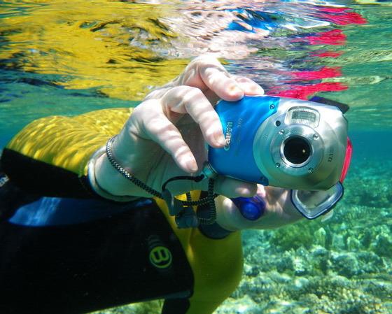 Дешевые фотоаппараты под водой