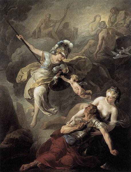 Картина афина