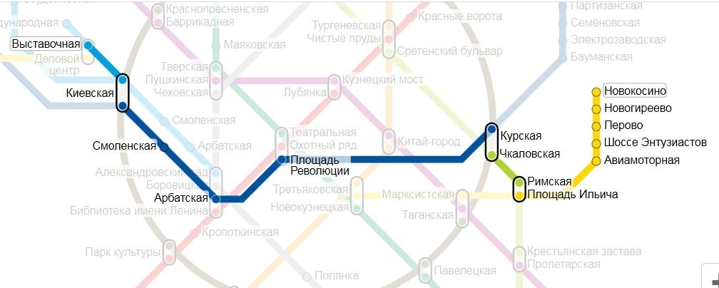 доехать наземным транспортом от метро1905г до афимол написал Доверенный