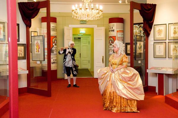 Выставка дворце