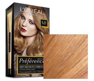 Краска для волос светло карамельный