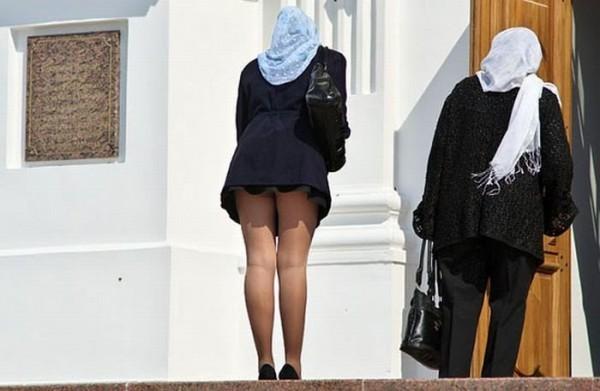 Длинна юбки в храме