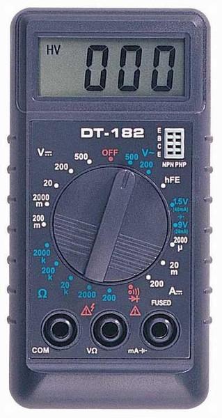 Тестер Dt-182 Инструкция По Применению - фото 2