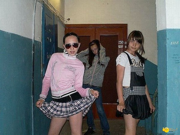 фото девушек гопники