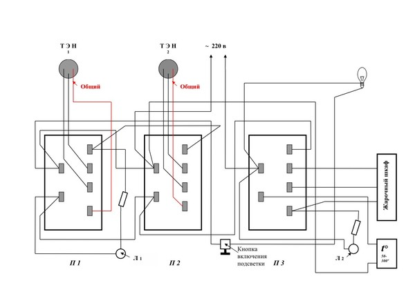 Ru: схема электроплиты мечта