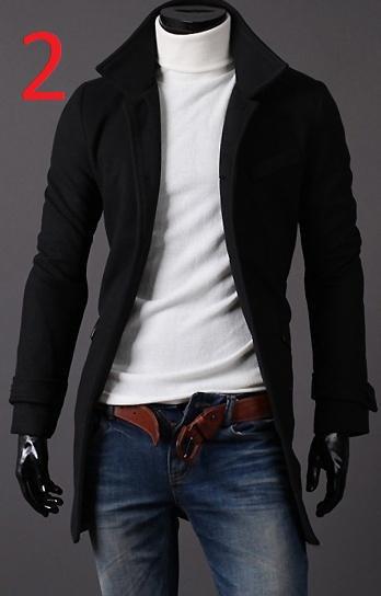 с чем одеть черное пальто мужское работы зимнего