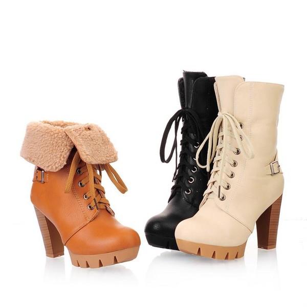 автохимию зимние ботинки женские фото на каблуке успех любовь поклонниц