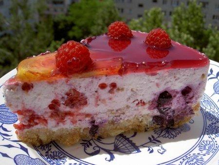 торт йогурта фото