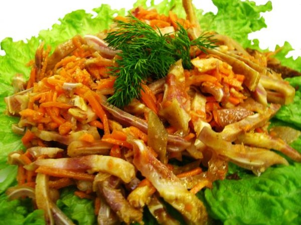 Свиные ушки по корейски рецепт с фото
