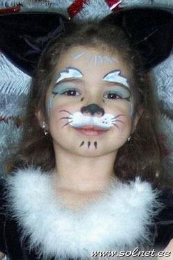 аквагрим - Поиск в Google | Страшный макияж на хэллоуин, Макияж на ... | 375x250