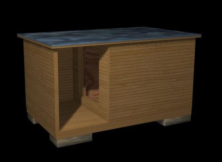Как построить будку для