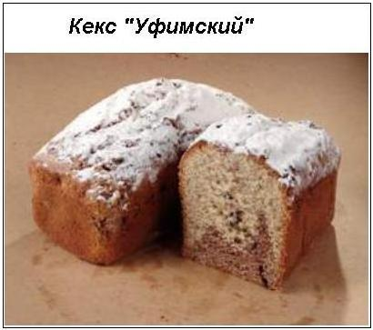 Кекс уфимский по госту рецепт с фото