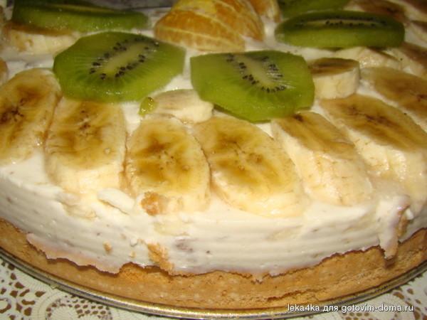 Начинка банан и киви для торта