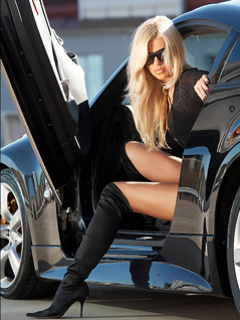 Девушки и авто (30 фото) - kaifolog.ru