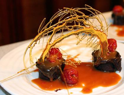 фото тортов из карамели