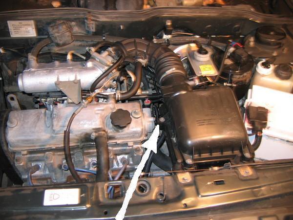 Ваз 2114 датчики на двигателе