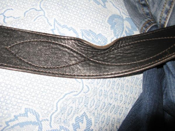 Как выправить кожаный ремень как носить мужской оранжевый ремень
