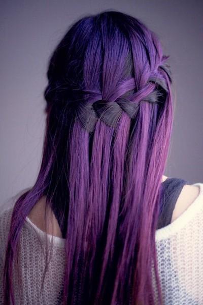 Фиолетовая тоника для волос