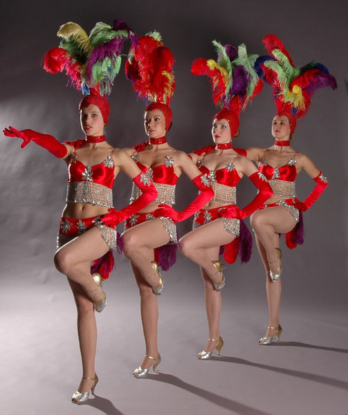 Танец с задиранием ног фото 24-822