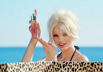 Блондинка реклама