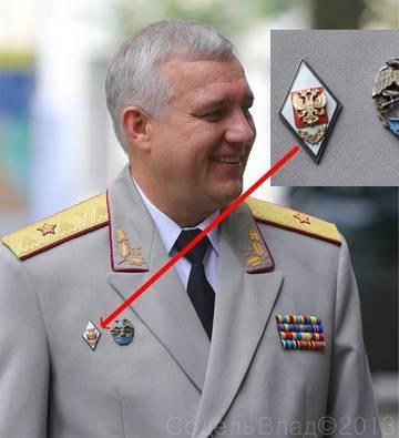 расположение медалей и знаков на кителе мвд фото