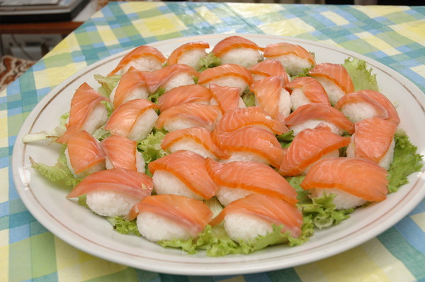 Суши с горбушей рецепт с фото
