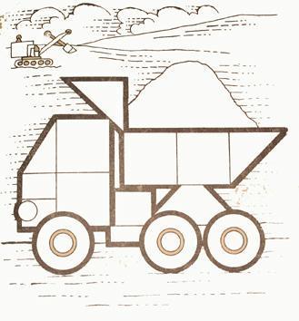 нарисовать грузовик в паскале