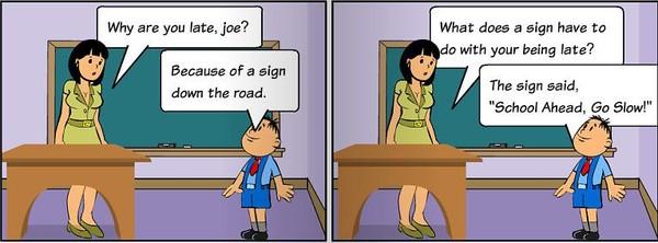 Смешная история из жизни на английском
