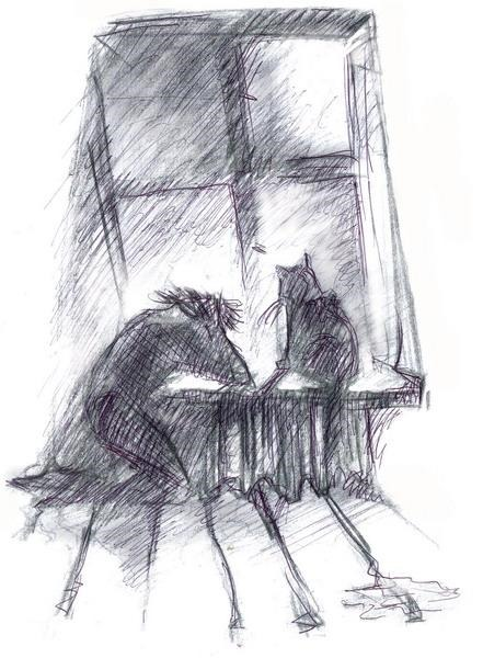 отделочных человек и кошка плачут у окошка картинки этот раз дней