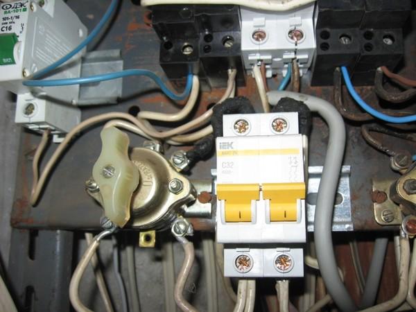 какой автомат поставить на электропечь