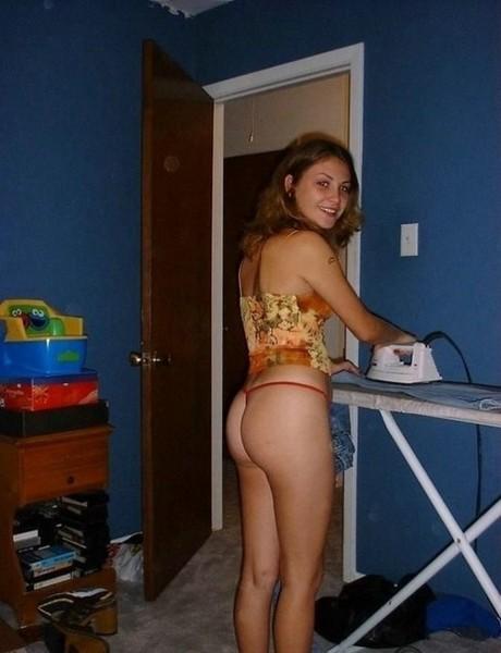 домашная фото девушек