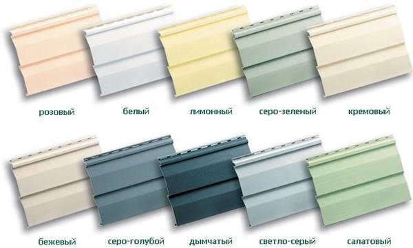 Фисташковый цвет сайдинга фото