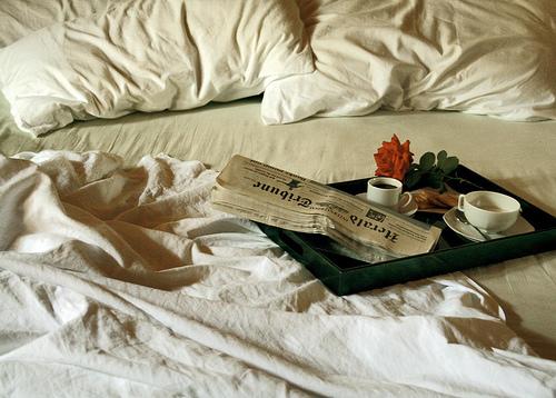 Утро в постели