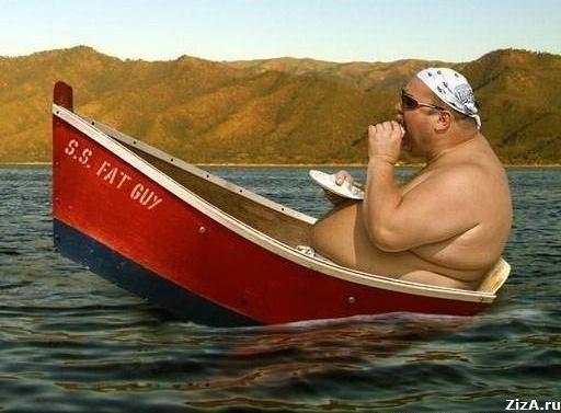 приколы с катерами и лодками