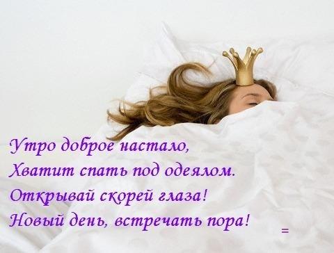 Картинки подъем хватит спать