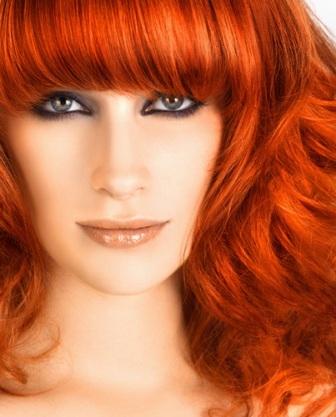 Цвет волос рыжий знакомства знакомства чита сайт