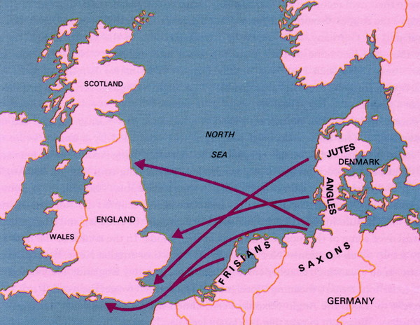 why did the vikings invade england