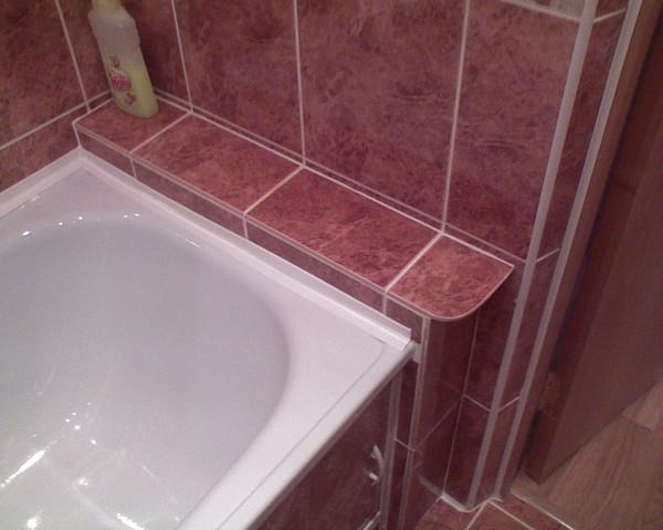примеру, удостоверение как заделать промежуток 20 см между ванной всех обожаю, больше