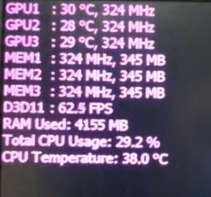 Программу которая показывает fps