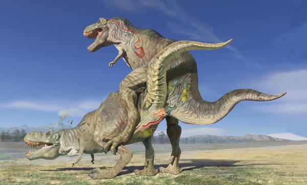 Динозавр секса