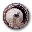 Монеты с изображением волка монета 10 рублей 2003