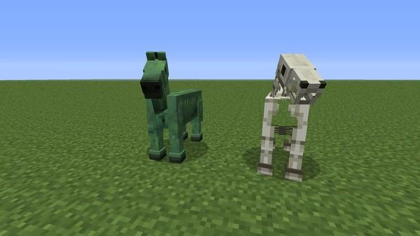 Как в Майнкрафте сделать лошадь