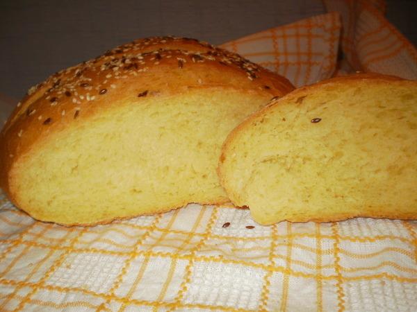 дрожжей без Рецепт яиц хлеба