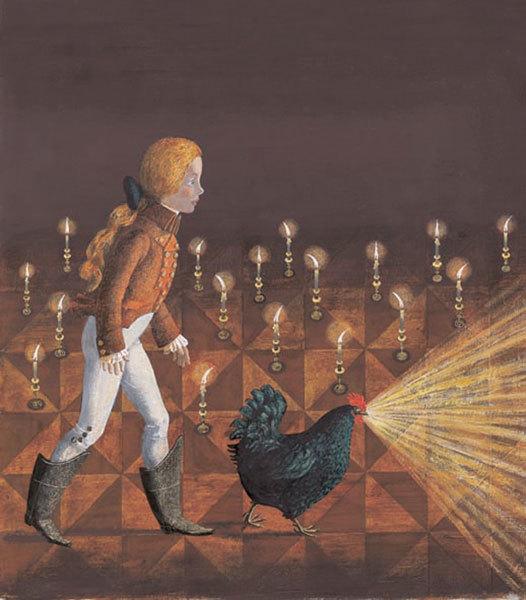 Картинка черная курица или подземные жители