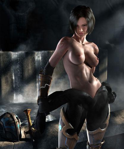 фото голых игровых героев девушек