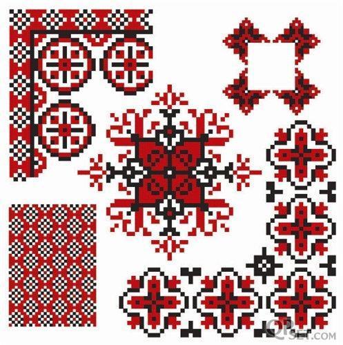 Схемы вышивок УКРАИНСКИХ