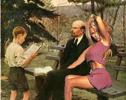 Проститутка ленин и