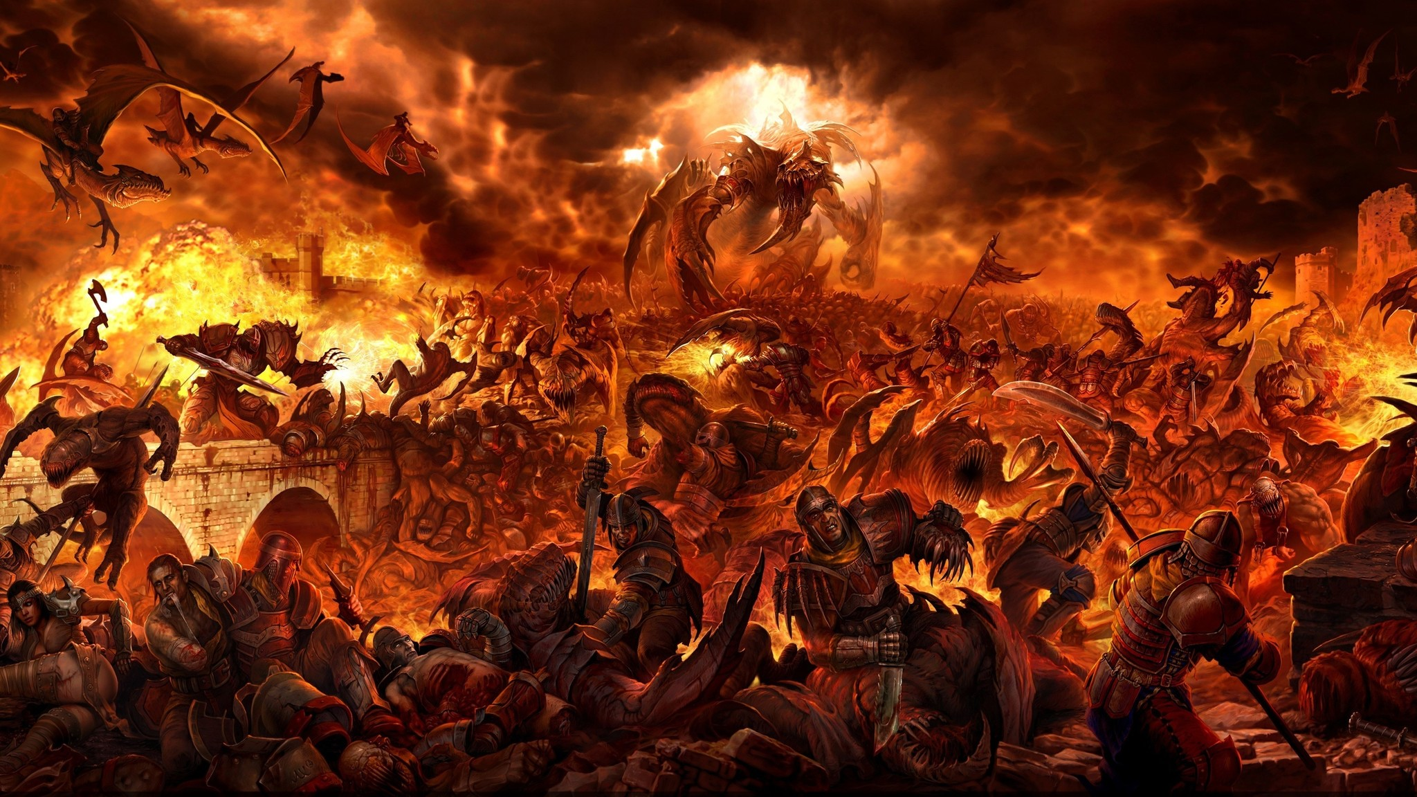 the decent of macbeth to the fiery pits of hell