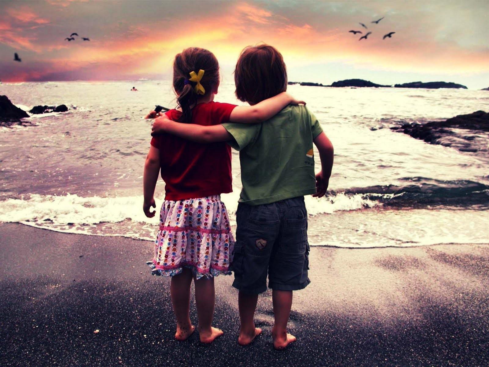 Дружба между девушкой и парня