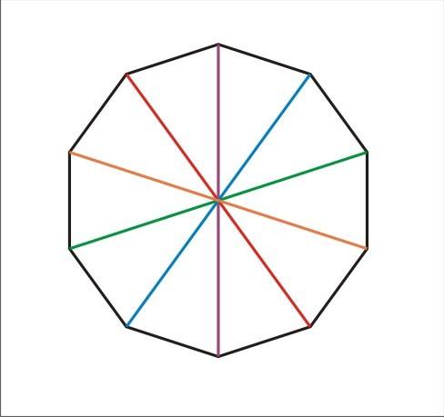 биологически картинка правильного десятиугольника изделия рубином элегантные